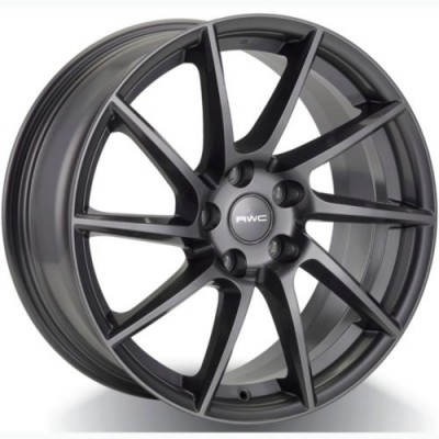 roue Rwc MT557, gris anthracite (18X8, 5x114.3, 67.1, déport 42)