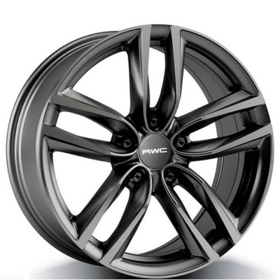 roue Rwc TO367, gris anthracite (17X7.5, 5x114.3, 60.1, déport 35)