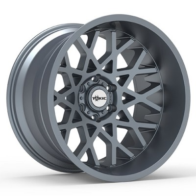 Roue TOXIC PUNISHER, gris gunmetal (20X10, 6x135, 87.1, déport -25)