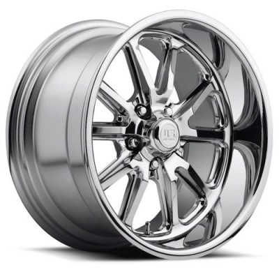 Roue US MAG Rambler U110, chrome (22X11, 5x127, 78.1, déport 18)