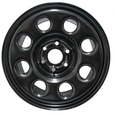 roue PMC Steel Wheel, noir (16X7, 6x120, 67.1, déport 30)