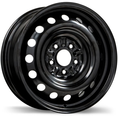 roue Fast Wheels Steel Wheel, noir (18X7.0, 5x114.3, 64.1, déport 40)