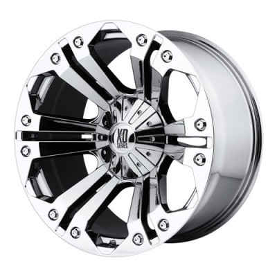 roue KMC Wheels Monster, chrome (22X9.5, 6x135/139.7, 106.25, déport 18)