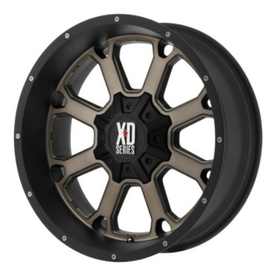Roue XD Series by KMC Wheels BUCK 25, bronze mat (20X10, 8x170, 125.5, déport -24)
