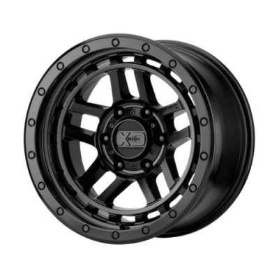 Roue XD Series by KMC Wheels RECON, noir satine (17X8.5, 5x127, 71.5, déport 18)