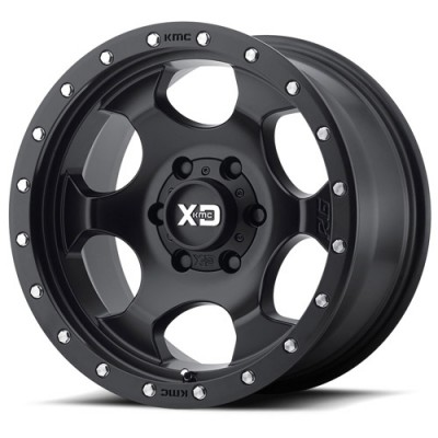 Roue XD Series by KMC Wheels XD131 RG1, noir satine (17X8.5, 5x127, 78.30, déport 25)
