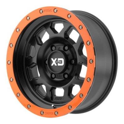 Roue XD Series by KMC Wheels XD132 RG2, noir satine (17X9, 5x127, 72.60, déport -12)