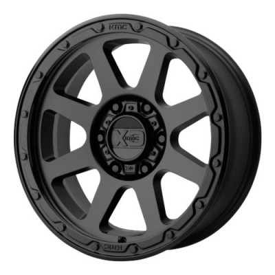 Roue XD Series by KMC Wheels XD134 ADDICT 2, noir mat (17X9, 6x114.3, 66.10, déport 18)