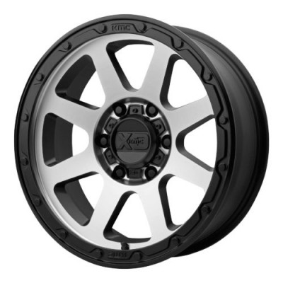 Roue XD Series by KMC Wheels XD134 ADDICT 2, noir mat machine (17X9, 6x114.3, 66.10, déport 18)
