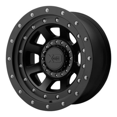 Roue XD Series by KMC Wheels XD137 FMJ, noir satine (20X12, , 78.30, déport -44)