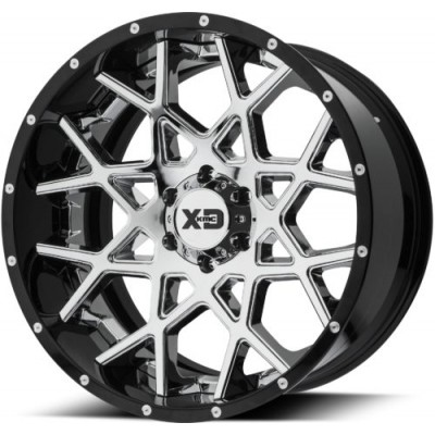 Roue XD Series by KMC Wheels XD203 CHOPSTIX, chrome (20X10, 5x127, 72.60, déport -18)