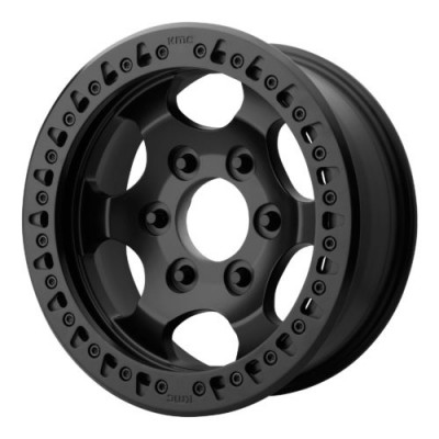 Roue XD Series by KMC Wheels XD231 RG RACE, noir satine (17X8.5, 8x165.1, 125.50, déport 0)