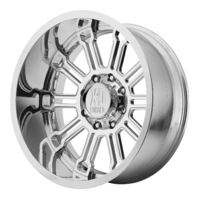 Roue XD Series by KMC Wheels XD402 SYNDICATE, argent polie (22X12, , 72.60, déport 0)