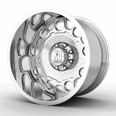 Roue XD Series by KMC Wheels XD405 HOLESHOT, argent polie (22X12, , 72.60, déport 0)