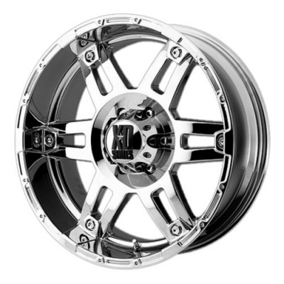 Roue XD Series by KMC Wheels XD797 SPY, chrome plaque (17X8, 8x180, 124.20, déport 18)