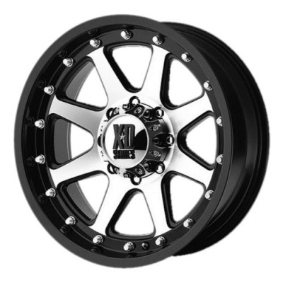 Roue XD Series by KMC Wheels XD798 ADDICT, noir mat machine (17X9, 6x114.3, 72.60, déport 18)