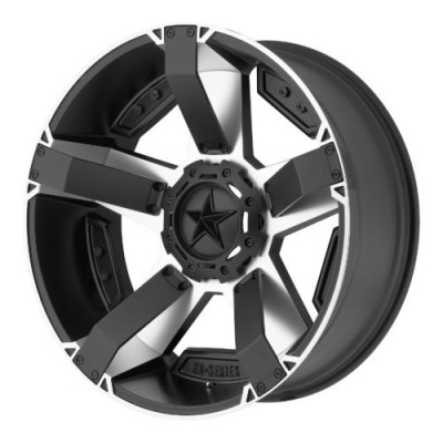 Roue XD Series by KMC Wheels XD811 ROCKSTAR II, noir mat machine (17X8, 5x114.3/127, 72.60, déport 35)