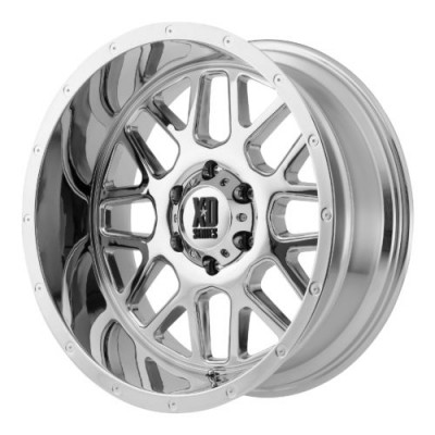 Roue XD Series by KMC Wheels XD820 GRENADE, chrome (18X8, 5x160, 65.10, déport 38)