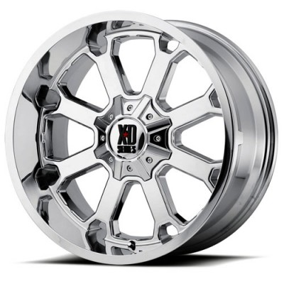Roue XD Series by KMC Wheels XD825 BUCK 25, chrome (20X12, 8x165.1, 125.50, déport -44)