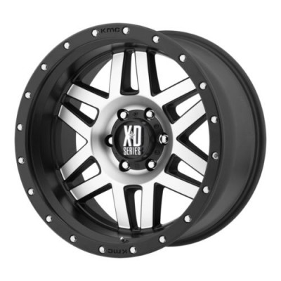 roue XD Series XD128 MACHETE, noir machine (17X8.5, 6x135, 87.1, déport 0)