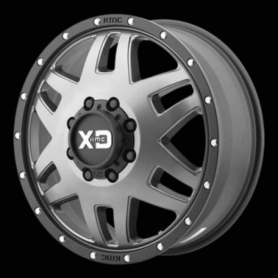 roue XD Series XD130 MACHETE DUALLY, noir satine (20X7.5, 8x165.1, 117, déport 142)