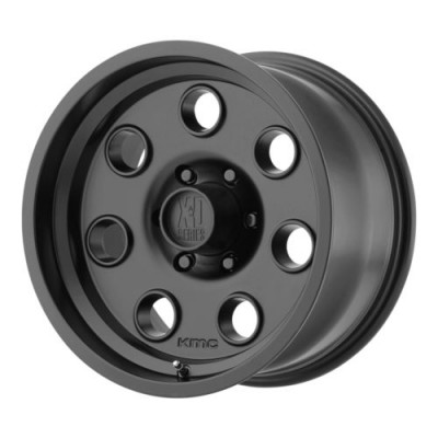 roue XD Series XD300 PULLEY, noir satine (17X8, 6x139.7, 108, déport 0)