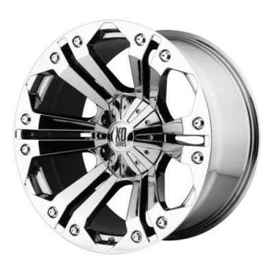 roue XD Series XD778 MONSTER, chrome plaque (24X10, 6x135/139.7, 106.25, déport 25)