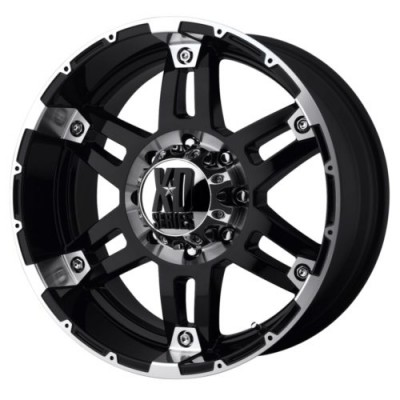 roue XD Series XD797 SPY, noir lustre machine (17X8, 5x127, 78.3, déport 18)