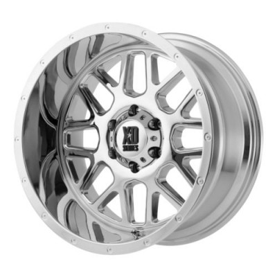 roue XD Series XD820 GRENADE, chrome (18X8, 5x160, 65.1, déport 48)