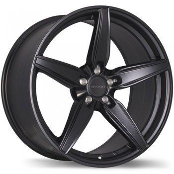 Braelin BR01 Matte Black/Noir Mat 19x8.5, 5x108mm(offset/deport 45)