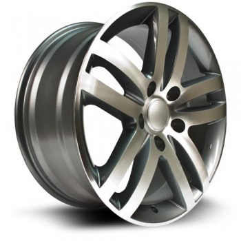 RTX Wheels Augsburg, Gris Gunmetal Machine/Machine Gunmetal, 18X8.5, 5x130 ( offset/deport 58), 71.5