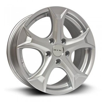 RTX Wheels Hida, Argent/Silver, 17X7, 5x114.3 ( offset/deport 45), 60.1 Toyota