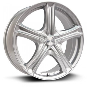 RTX Wheels Stratus, Argent/Silver, 15X6.5, 5x100/114.3 ( offset/deport 38), 73.1