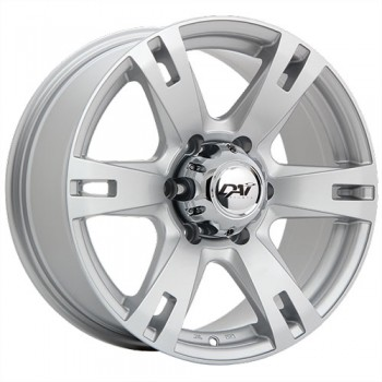 Dai Alloys Terramax, Argent/Silver, 17X8.0, 6x114.3 (offset/deport 25), 78.1