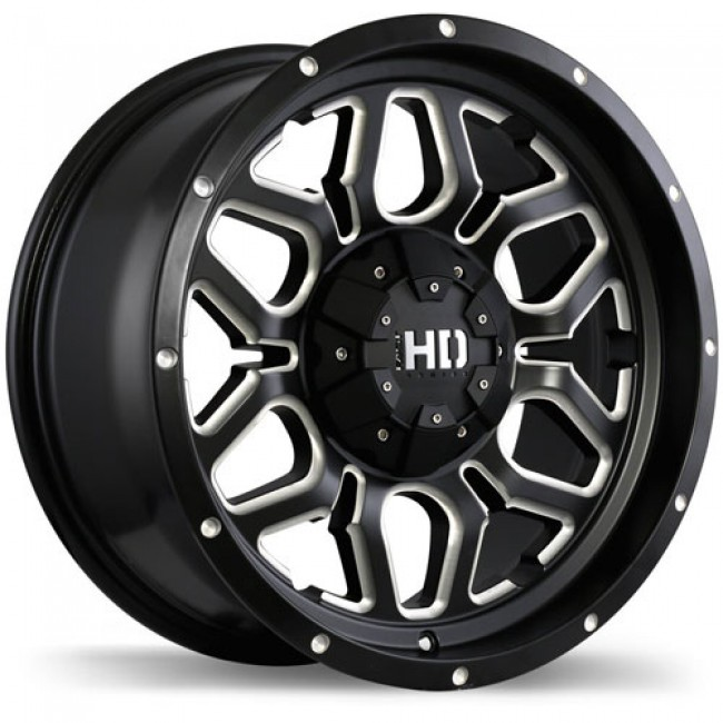Fastwheels Rigg, Matt Black Machine wheel
