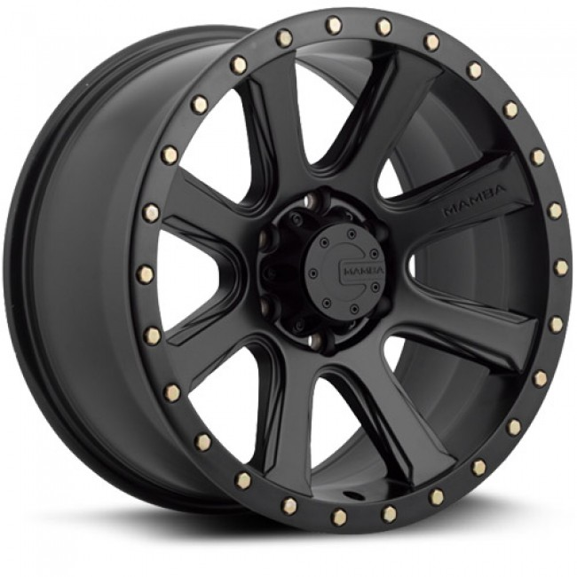 Mamba M16, Matte Black wheel