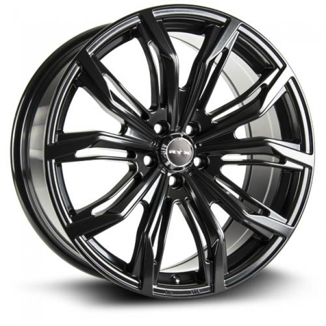 RTX Wheels Black Widow, Satin Black wheel