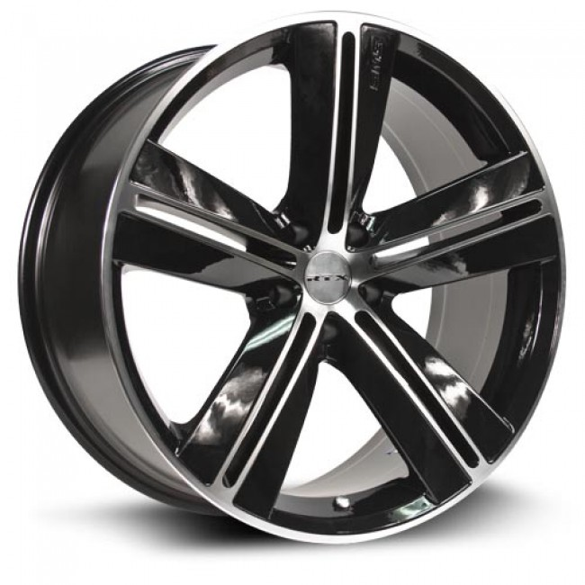 RTX Wheels Sms, Machine Black wheel