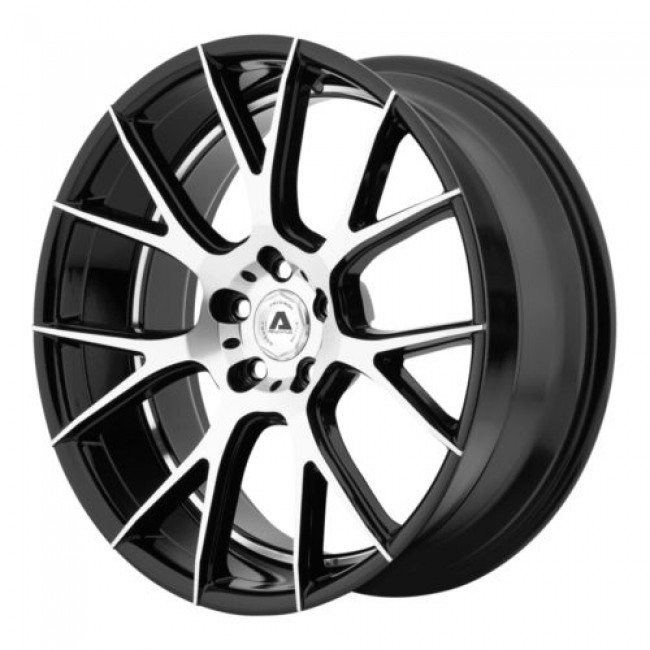 Adventus AVX-7, Gloss Black Machine wheel