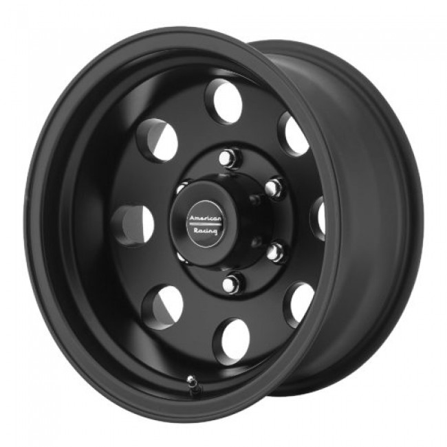 American Racing AR172 BAJA, Satin Black wheel