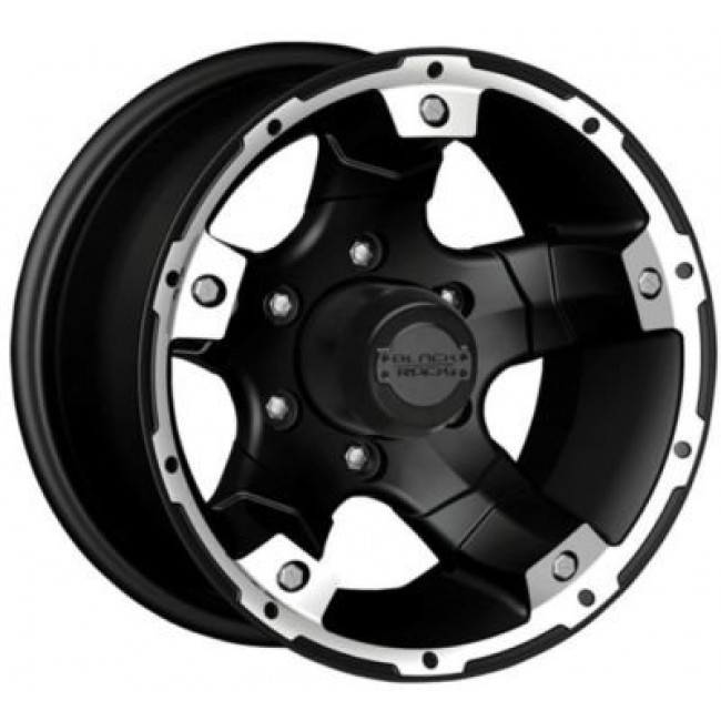 Cragar  Viper 900S, Matte Black wheel