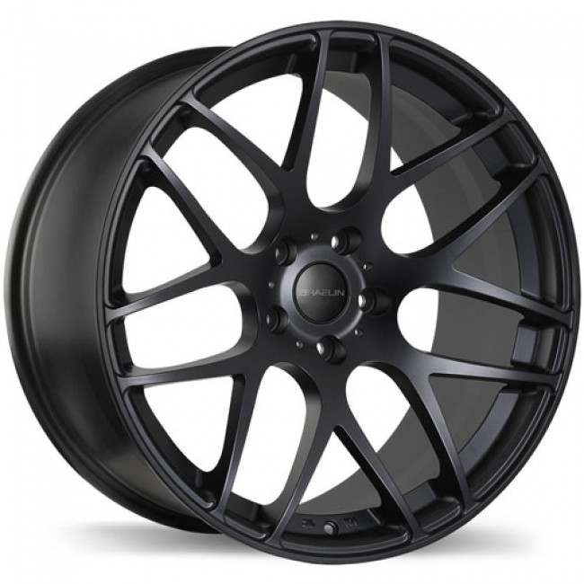 Braelin BR06, Satin Black wheel