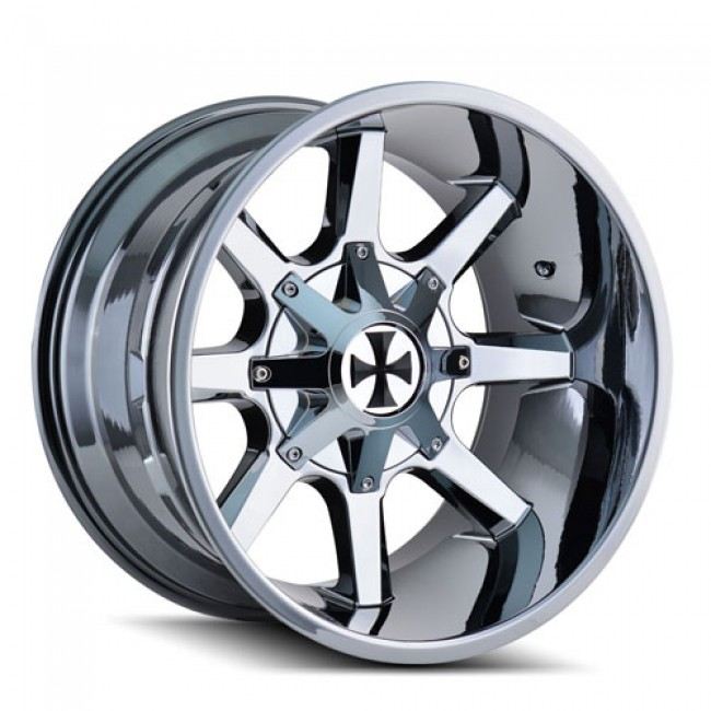 Calioffroad 9100 Busted PVD Chrome / Chrome Vaporise, 20X9, 5x139.7/150 ,(déport/offset 0 ) 110