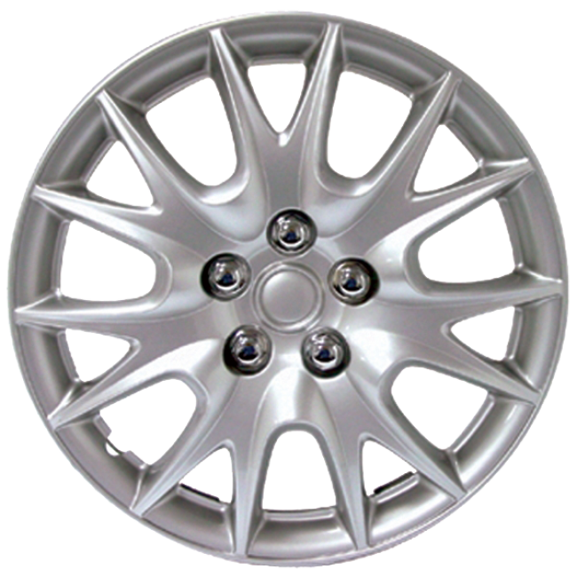 "Wheel Covers 15"" (set of 4) - Silver - D95015S"