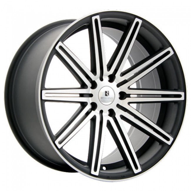 Dai Alloys Modello, Matt Black Machine wheel