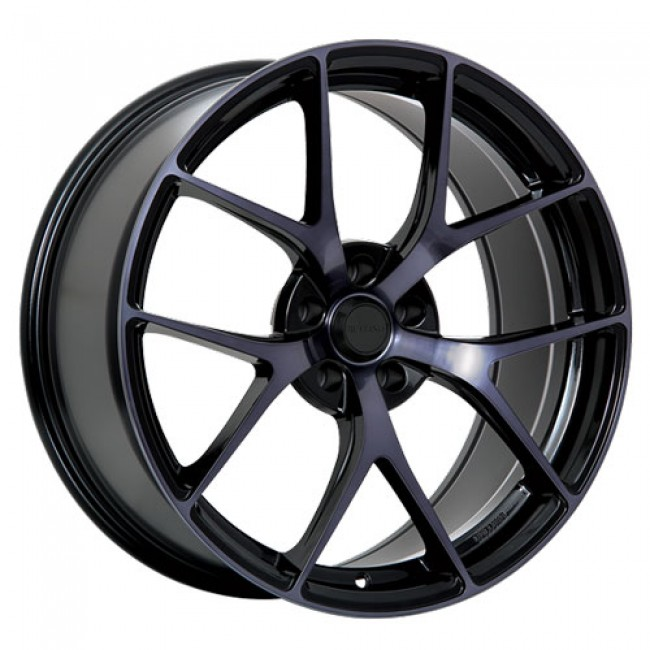 Ruffino Wheels Chronos, Gloss Black Machine wheel