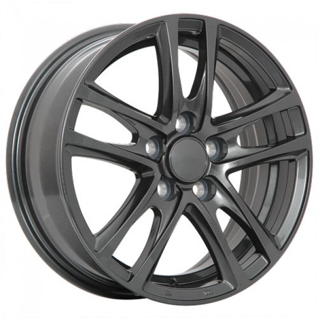 Dai Alloys OEM Graphite/Graphite, 17X7.0, 5x120 ,(déport/offset42 )67.1