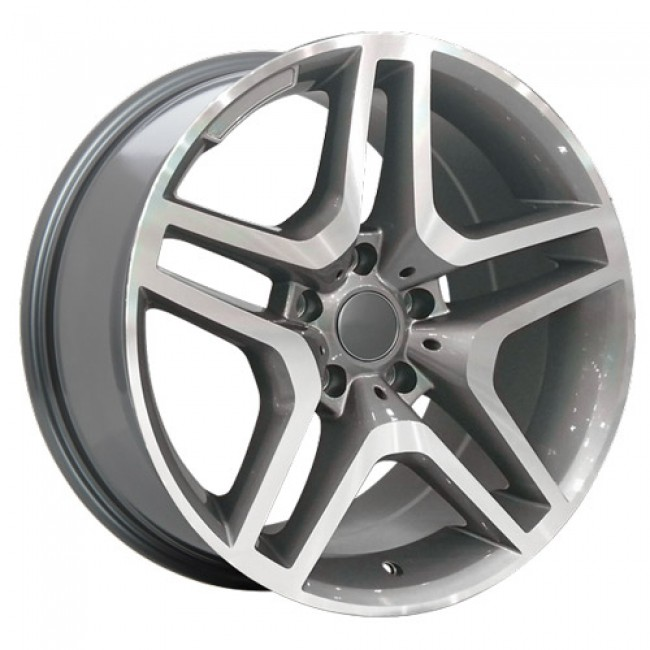 Art Replica Wheels Replica 57, Machine Gunmetal wheel