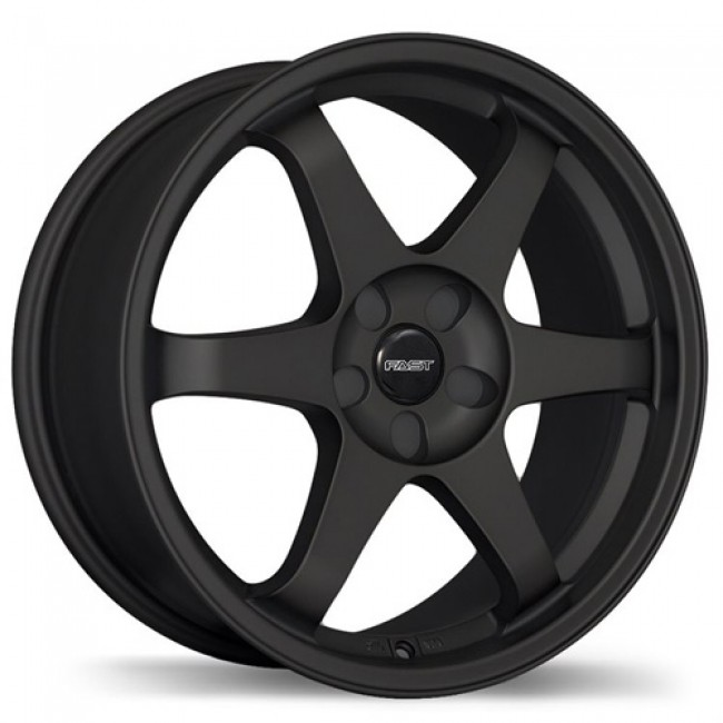 Fastwheels Hayaku Satin Black/Noir satiné, 18X8.0, 5x105, (offset/déport 40 ) 73