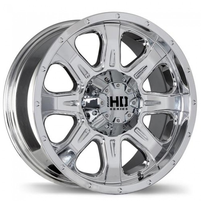 Fastwheels C4, Chrome wheel